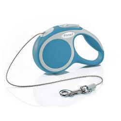 Flexi Max 8 kg cordon de 3 m. Flexi vario turquoise Laisse pour chien FL-1032256 laisse chien