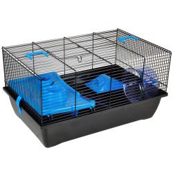 Cage pour hamster Jaro 1. 50 x 33 x 27 cm pour Rongeur Cage Flamingo FL-210125