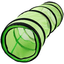 Flamingo FL-1030811 Tunnel for green and black cats 136 cm Games