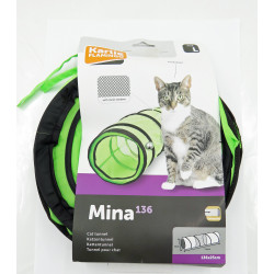 Flamingo Pet Products Tunnel for green and black cats 136 cm Games