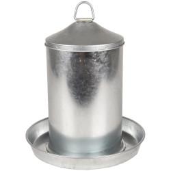 Flamingo Abreuvoir, Dobby galvanisé, 5 litres, pour poules. FL-310047 Zubehör
