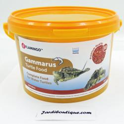 Flamingo Pet Products Gammarus, seau 3 Litres, aliment naturel pour tortue d'eau. Nourriture