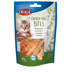 Trixie treat Chicken fillet 50 g bag for cats Nourriture