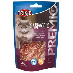 Trixie Friandise carpaccio canard et poisson sachet de 20 g pour chat TR-42707 Friandise chat