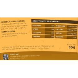 novealand Larve intere soffiate per i vostri roditori 50 grammi ENT-50-RO Friandise