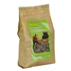Friandise Delizia réglisse 1 kg pour chevaux Friandise kerbl KE-325017