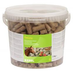 kerbl Friandise Delizia fraise 3 kg pour chevaux Friandise
