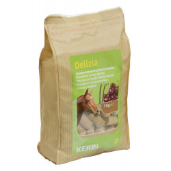 kerbl Friandise Delizia vanille et cerise 1 kg pour chevaux KE-325123 Friandise