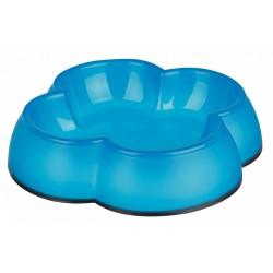 TR-24430 Trixie 0.Tazón de plástico de 25 litros ø 12 cm con forma de hoja de trébol - varios colores Tazón, tazón, tazón, tazón