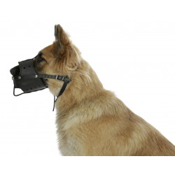 kerbl KE-80840 Leather muzzle for dogs 38 cm snout circumference. dog training