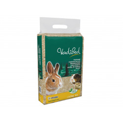 Vadigran Wood shavings, 35 liters or about 2.5 kg. for rodents. Litière rongeur
