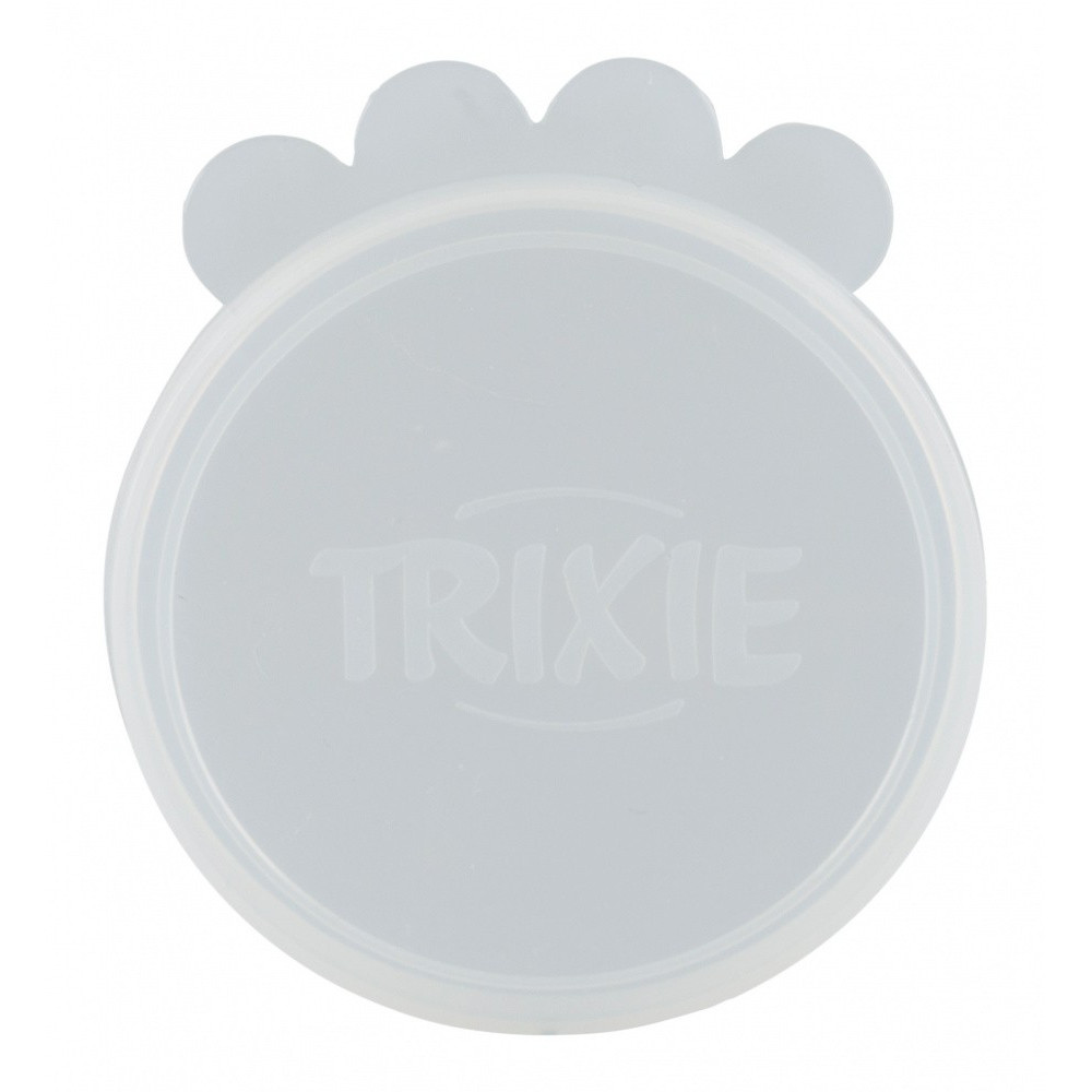 Trixie TR-24554 Lids ø 10.6 cm for canned animal food, made of silicone. food accessory