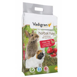 Vadigran Rosehip flower hay food 500 gr Hay, litter, shavings