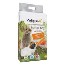 Vadigran Food flower hay carrot 500 gr, for rabbit or rodent. Hay, litter, shavings