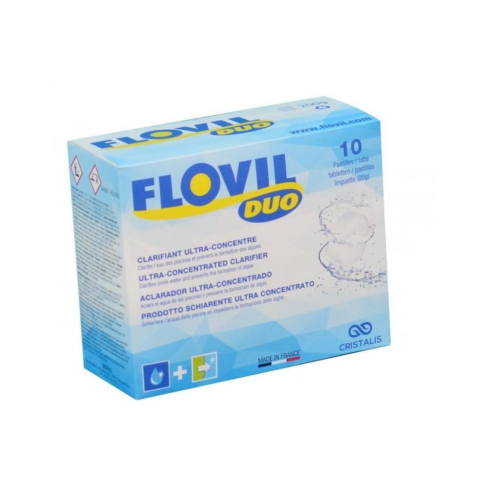 Floculation à double action - flovil duo Produit de traitement flovil WEL-500-0004