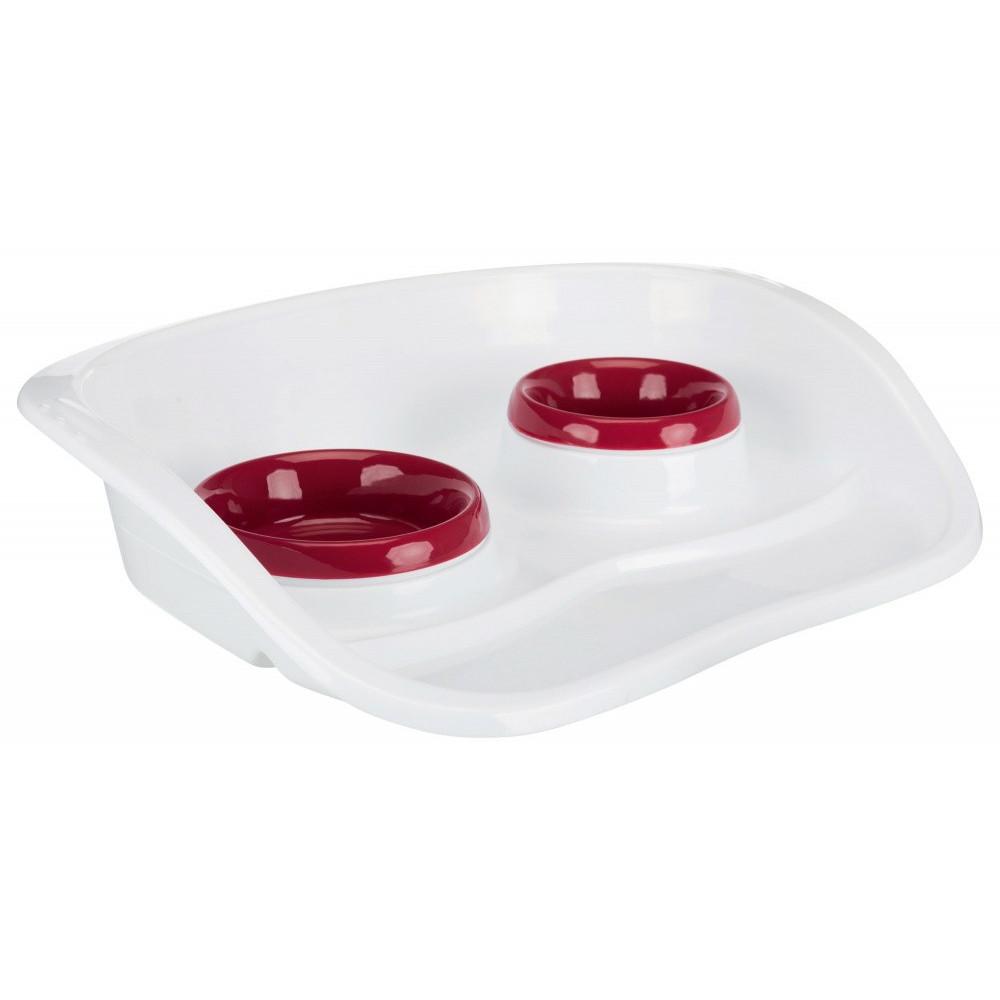 Set écuelles pour chats ou petit chiens - couleur aléatoire. accessoire alimentaire Trixie TR-24721