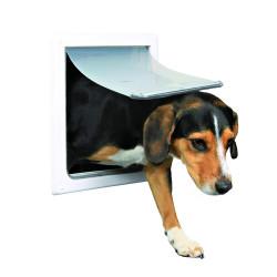 TR-3878 Trixie Chatière pour chien 2 positions S-M Porta solapa para perro
