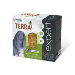 VA-246010 Vadigran Nourriture lapin Terra expert 800 gr en deux block Comida y bebida