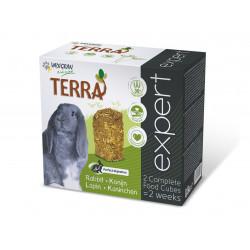 Vadigran Nourriture lapin Terra expert 800 gr en deux block VA-246010 Essen und Trinken