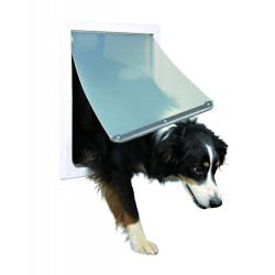 Trixie Chatière pour chien 2 positions M-XL TR-3879 Porte chatière chien