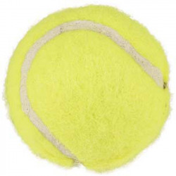 Flamingo FL-518477 Dog toy 3 small yellow balls ø 3.7 cm approximately Jeux