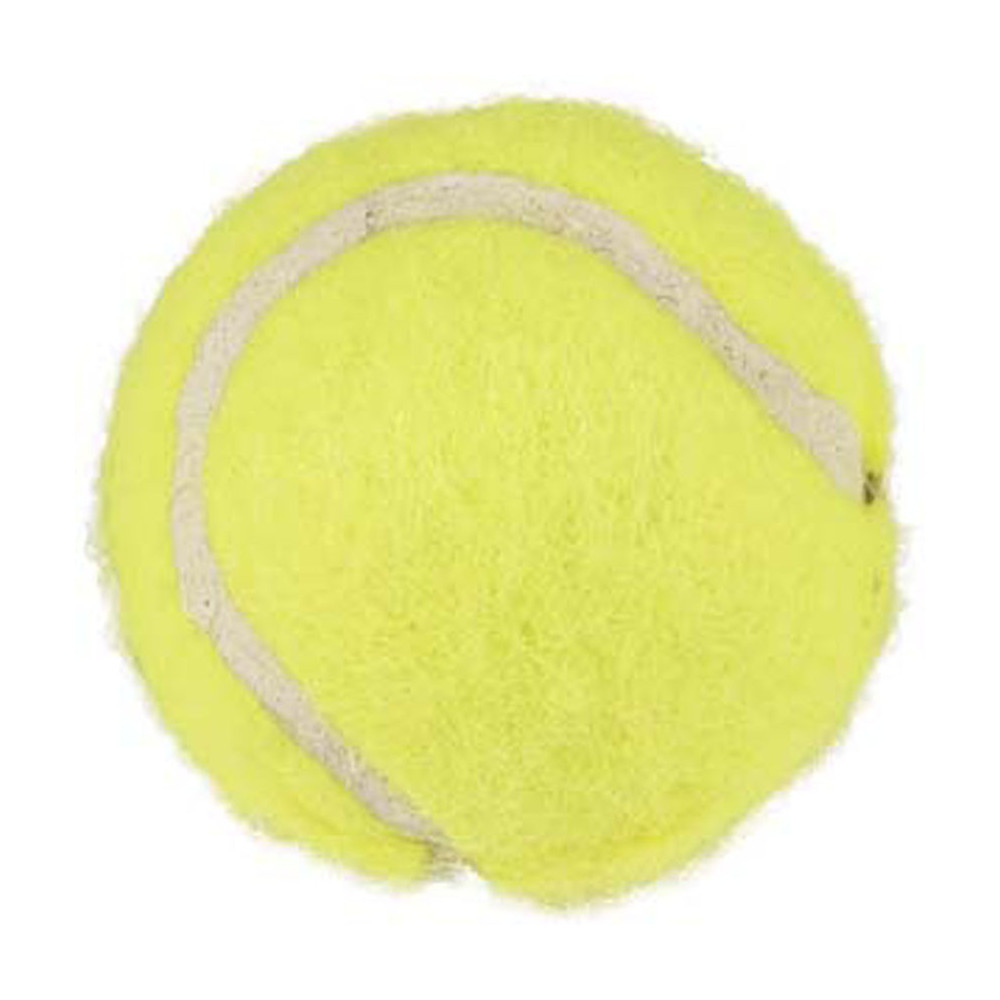Flamingo FL-518477 Dog toy 3 small yellow balls ø 3.7 cm approximately Jeux