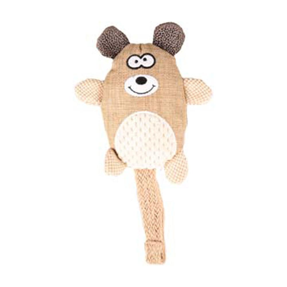 Flamingo FL-519598 Tura bear dog toy 25 cm Jeux