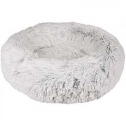 Panier Alba rond blanc ø 52 cm x 14 cm pour chat Couchage Flamingo FL-560794