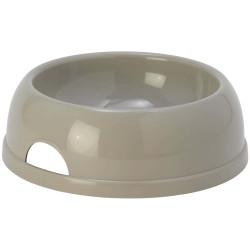 Flamingo 1.5 litre Gamelle pour chien et chat MARA grise FL-518804 Gamelle, écuelle