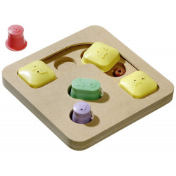 Karlie Lernspielzeug für Hunde, mobil 25 X 25 X 25 X 25 X 25 X 5 Cm TR-47756 Belohnen Sie Süßigkeiten-Spiele