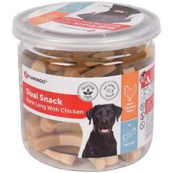 Snack para perros con pollo 160 gr Flamingo Snack para perros FL-518571