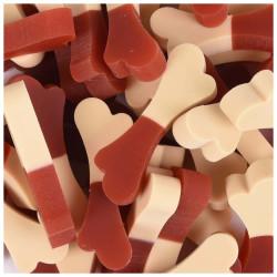 FL-518572 Flamingo Friandise Snack pour chien saveur boeuf 160 gr Nourriture