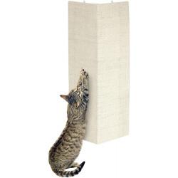 Flamingo Sisal Schabebrett für Beige Katze 28 x 52 cm + Katzenminze FL-5346242 Kratzer und Schaber