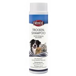 TR-29182 Trixie Shampoing sec poudre 200g pour chat et chien Champú