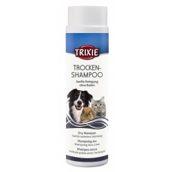 Trixie Shampoing sec poudre 200g pour chat et chien TR-29182 Shampoing