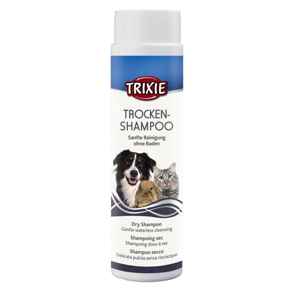 Shampoing sec poudre 200g pour chat et chien Soin et hygiène  Trixie TR-29182