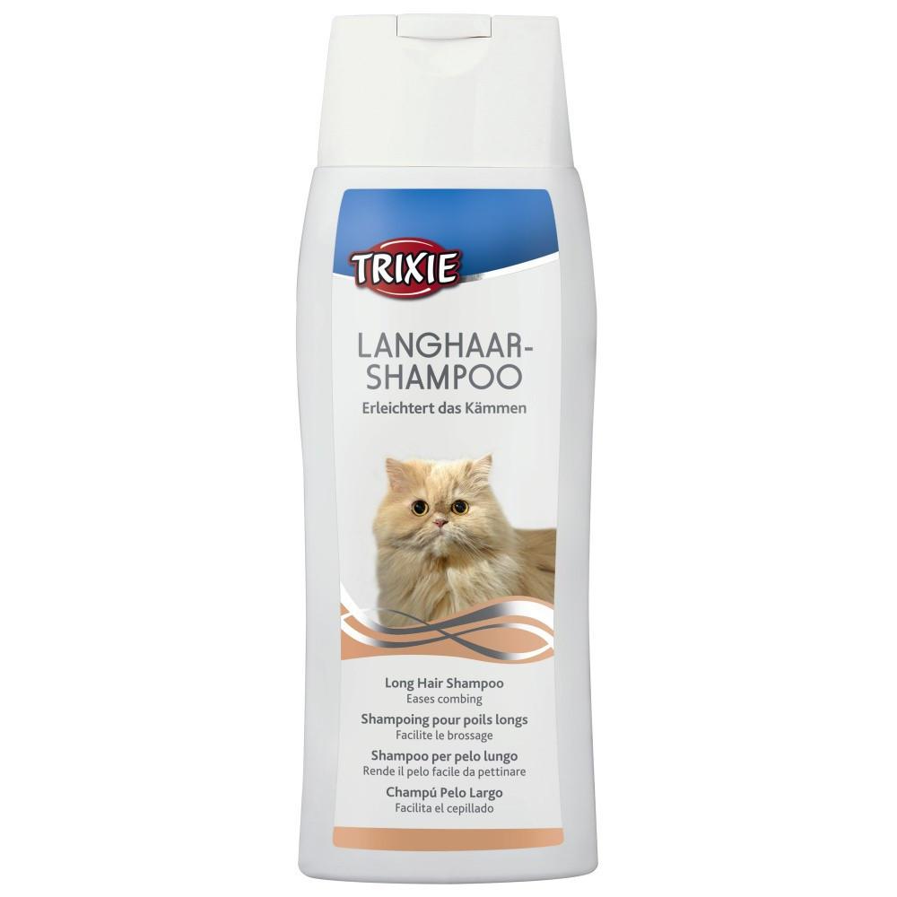 TR-29191 Trixie Champú para gatos de pelo largo 250 ML Tratamiento de belleza
