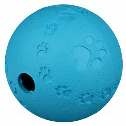 une Snack balle pour chien ø 6 cm - distributeur de friandise - couleur aléatoire Jeux a récompense friandise  Trixie TR-34940