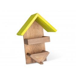 Vadigran Support pot de graisse et graine pour oiseaux, taille: 24 X 15 X 26 cm. VA-15650 Mangeoires extérieur