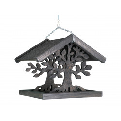 VA-15642 Vadigran Mangeoire en bois pour oiseaux, MAGIC, Taille: 30 X 30 X 28 cm. Alimentadores para exteriores