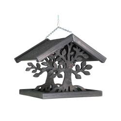 VA-15642 Vadigran Comedero de madera para pájaros, MAGIA, Tamaño: 30 X 30 X 28 cm. Alimentadores para exteriores