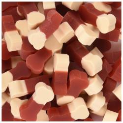 "FL-518575 Flamingo Friandise Snack pour chien ""dual mini Bone saveur boeuf 160 gr Nourriture"