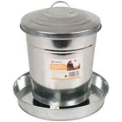Flamingo FL-310045 Galvanized feeder, HEDWIG, 6 Liters - chicken, chicken Accessory