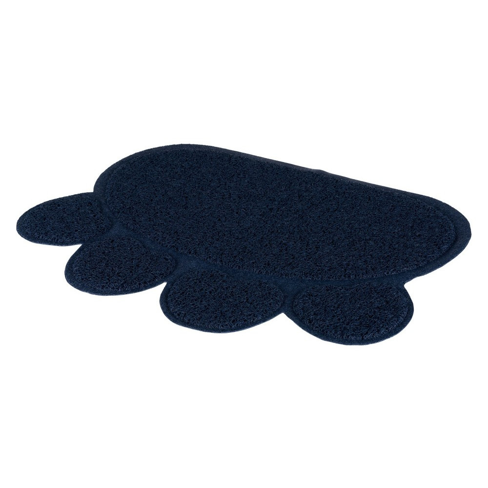 tapis pour bac liti re bleu 60 45 cm. Black Bedroom Furniture Sets. Home Design Ideas