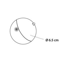Balle led magic rose pour chat ø 6.5 cm Jeux Flamingo FL-560645