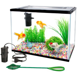 aquarium complet lollipop 16 Litres 36 x 22 x 26 cm Aquariums Flamingo FL-403578