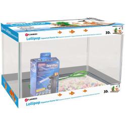 complete aquarium lollipop 30 Litres 44 x 28 x 28 x 30 cm Flamingo Aquariums FL-410075