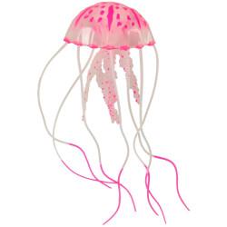 Une Méduse fluo décoration aquarium 5 x 15 cm Décoration et autre  Flamingo FL-410098
