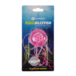Flamingo Une Méduse fluo décoration aquarium 5 x 15 cm FL-410098 Décoration et autre