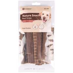 Flamingo FL-518636 Natural beef candy strips of 11 cm. 100 g. Nourriture